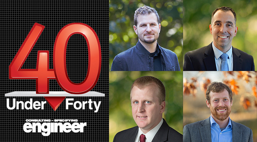 Four CMTA Engineers Named in CSE Magazine's 2021 40 Under 40 List