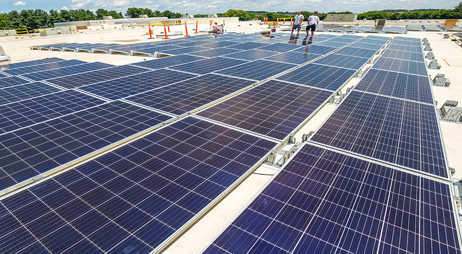 Simpson Middle School Powers Up With Solar Array