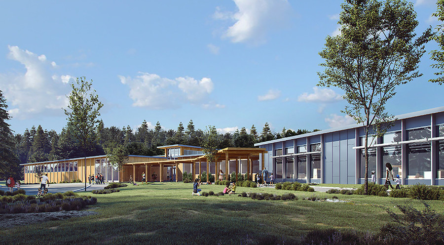 Net-zero energy schools offer CT a glimpse of future green development