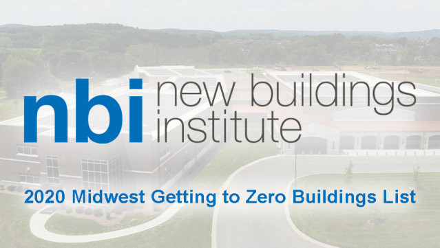 2020 Midwest Getting to Zero Buildings List